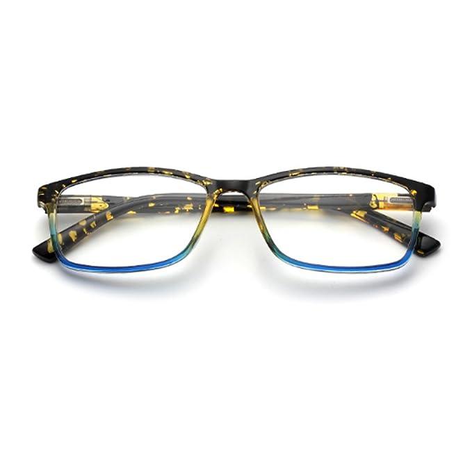 Aiweijia Gafas de sol rectangulares, lentes de resina, para ...