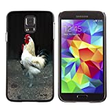Hot Style Cell Phone PC Hard Case Cover // M00130731 Cock Tom Comb Domestic Fowl The Hen // Samsung Galaxy S5 S V SV i9600 (Not Fits S5 ACTIVE)