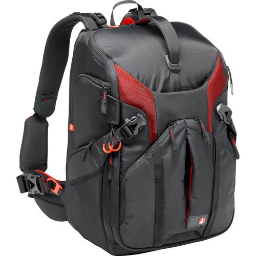 Manfrotto MB PL-3N1-36 Pro Light camera backpack 3N1-36 for DSLR/C100/DJI Phantom, Black (MB PL-3N1-36) by Manfrotto
