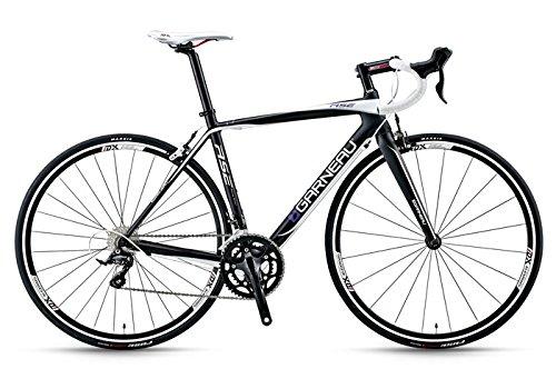 ガノー 2013 RSE カーボンロードバイク B079GT622BBLACK/WHITE 460mm(150-165cm)