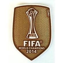 REAL MADRID FIFA CLUB WORLD CHAMPION 2014 RONALDO BENZEMA BALE JAMES PATCH,BADGE,PARCHE