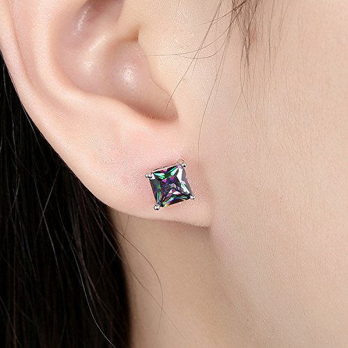 BLOOMCHARM Exquisite&Fancy Design Stud Fashion Dangle Drop Long Earrings Jewelry, Gifts for Women Girls by BLOOMCHARM (Image #5)