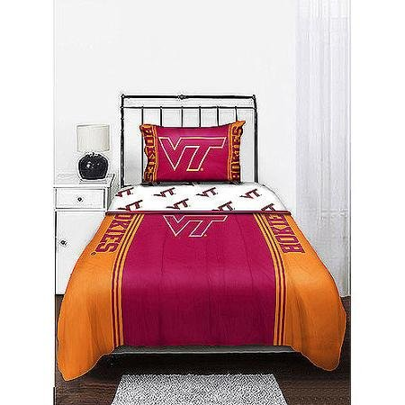 (Northwest Virginia Tech Hokies Twin Sheet Set)