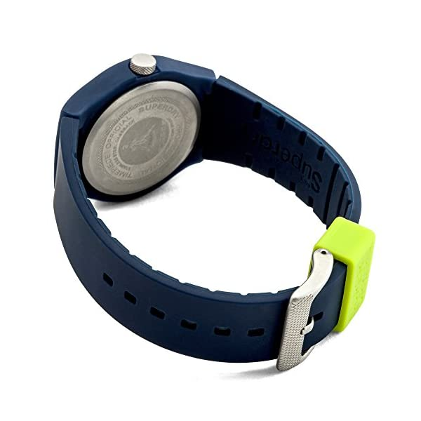 SUPERDRY Unisex Watch with Silicone Strap