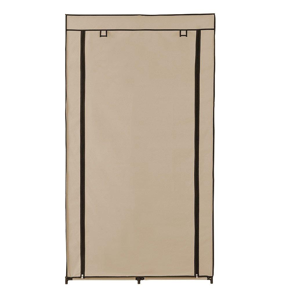 neu.holz] Faltschrank Kleiderschrank (162 x 90cm)(beige) Schrank ...