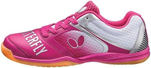 Butterfly Groovy - Zapatillas de Tenis de Mesa, 8, Rosado: Amazon ...