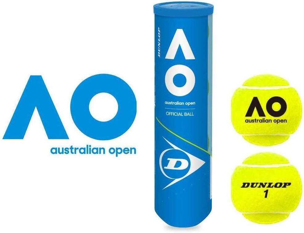 4 Ball Can Dunlop Australian Open Tennis Balls
