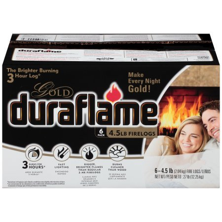 Gold Log - Duraflame 6 Count GOLD LOGS