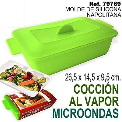 Sini Molde Silicona 26,5x14,5x9,5CM NAPOLITANA: Amazon.es: Hogar