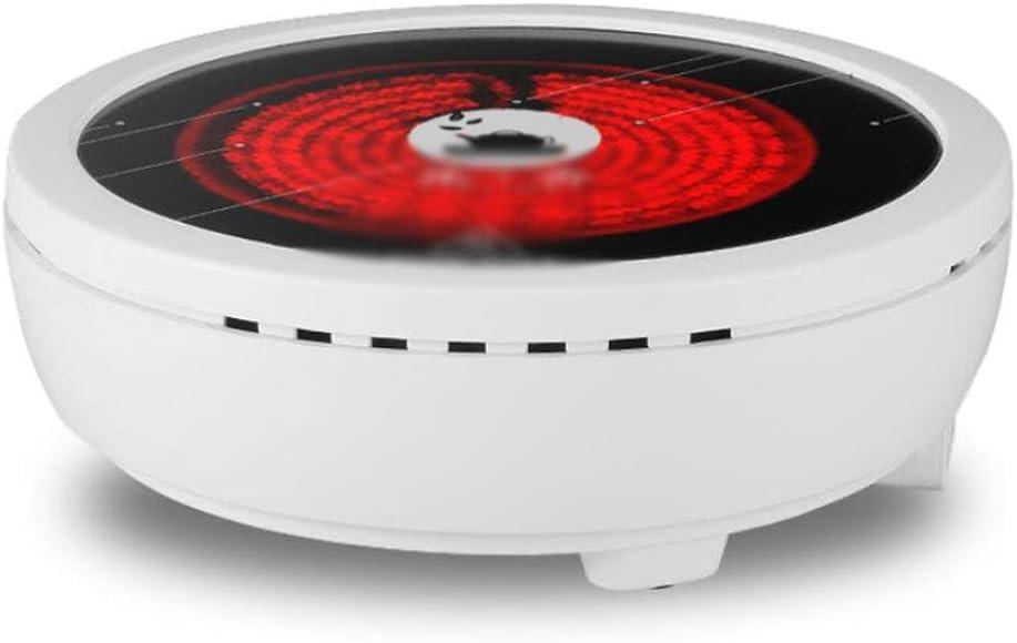 LJXWH Quemador de encimera, Estufa de cerámica eléctrica Inteligente, Estufa de té eléctrica doméstica Mini pequeña Estufa de cerámica eléctrica (Color : Blanco)