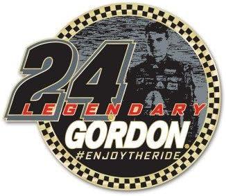 WinCraft NASCAR 10617115 Jeff Gordon Jewelry Card Collector Pin