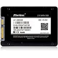 Zheino A1 Sata III 240GB SSD 2D MLC 2.5 Inch Solid State Drive (7mm) for Laptop Notebook