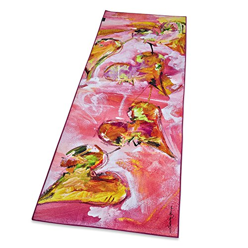 Zennery Salvatore Principe by Sand Washed Yoga Mat Towel -FLOWING HEARTS