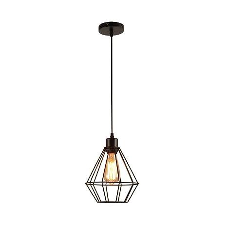 Retro Industria Viento Techo Colgante de luz Lámpara colgante ...