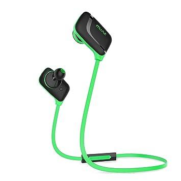 Honstek H7 auricular Bluetooth, Wireless Bluetooth V 4.0 auriculares con micrófono, control remoto,