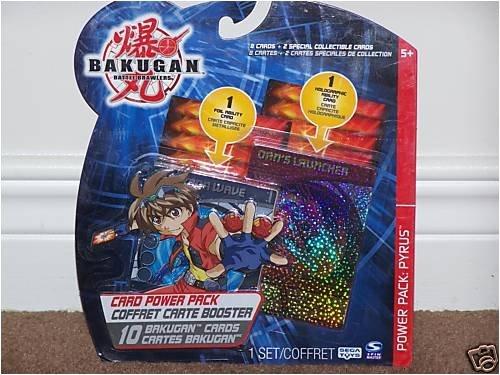 Bakugan Battle Brawlers Card Power Pack - Pyrus