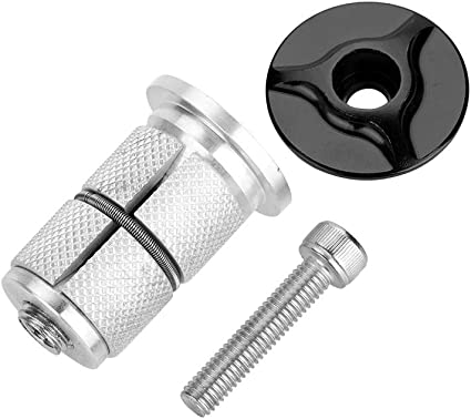 "Bike Fork Headset Expansion Bolt Screw for 1 1//8/"" 28.6mm Steerer Threadless Fork"