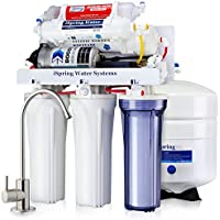 iSpring RCC7P-AK Under Sink 6-Stage Reverse Osmosis Filtration System