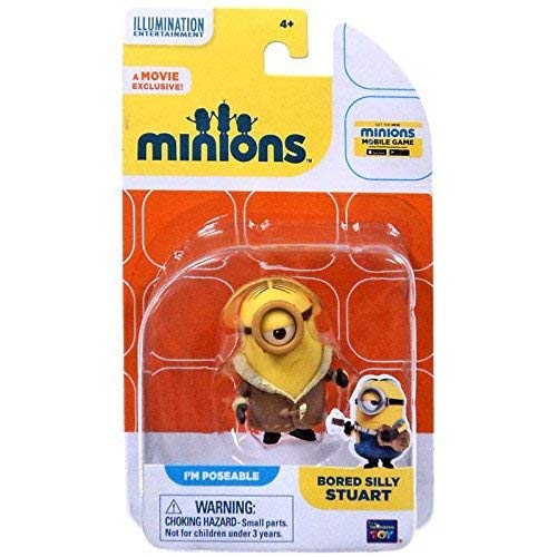 Thinkway Despicable Me Minions Movie Bored Silly Stuart Action -