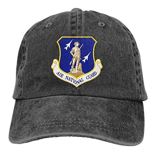United States Air Force National Guard Dad Hat Denim Baseball Cap Adjustable Polo Trucker Unisex Style Headwear