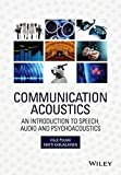 img - for Communication Acoustics: An Introduction to Speech, Audio and Psychoacoustics book / textbook / text book