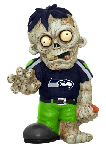 NFL Seattle Seahawks Pro Team Zombie Figurine