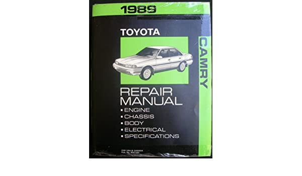 1989 toyota camry repair manual toyota amazon books fandeluxe Images