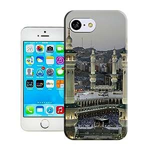 Amazing Hard Plastic iPhone 5c Case, Fate Inn-Sacred Saudi Mosque (5)-iPhone 5c case