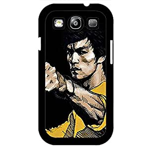 Dashing Bruce Lee Phone Case Cover for Samsung Galaxy S3 I9300 Bruce Lee Confident