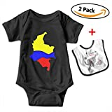 KAYERDELLE Colombia Map Newborn Babys Boy's