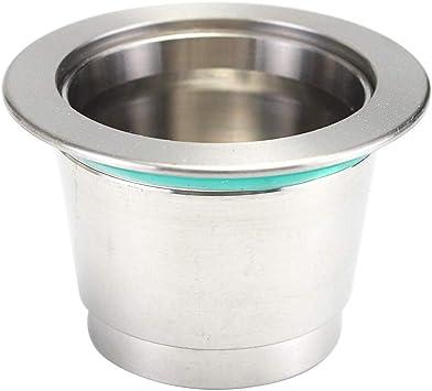 Cápsula de metal súper fina recargable para máquina de café ...