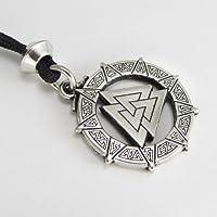 Valknut Warrior's Knot Pendant Valkyrie Viking Pendant Asatru Jewelry