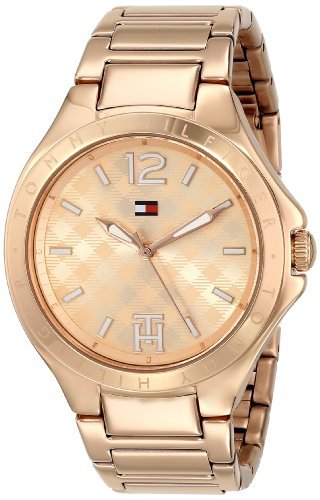 Tommy Hilfiger Women's 1781384 Rose Gold-Tone Stainless Steel -