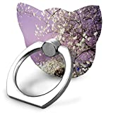 Phone Stand This Beautiful Cherry Blossom Festival Cat Type Ring Cell Phone St