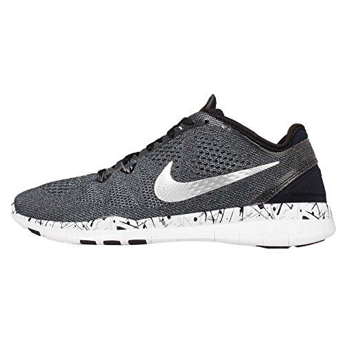 Nike Zapatillas de Gimnasia de Material Sintético Para Hombre Gris Grey Black Gris Size: 44 AJT5Ugc