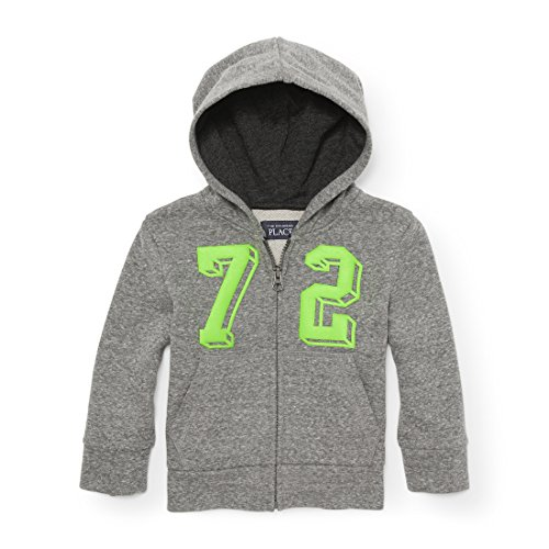 The Children's Place Baby Boys' Graphic Fleece Hoodie, H/T Hound 87435, ()