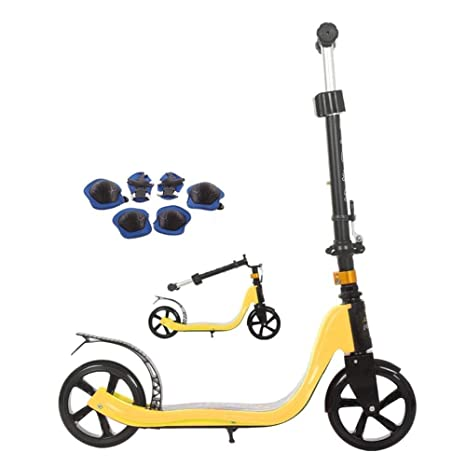 Lcxliga Scooter Plegable Junior, Patinete, Patinete Infantil ...