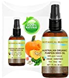 "ORGANIC PUMPKIN SEED OIL Australian. 100% Pure / Natural / Undiluted /Unrefined Cold Pressed Carrier Oil. 1 Fl.oz.- 30 ml. For Skin, Hair, Lip And Nail Care. ""One Of The Richest Sources Of Enzymes, Fatty Acids, Iron, Zinc, Vitamins A, C, E And K"". Botanical Beauty"