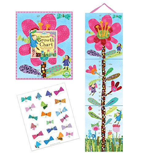 eeBoo Hot Pink Flower Growth - Chart Growth Eeboo