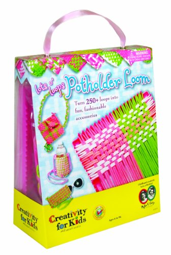 Creativity for Kids Lot's O'Loops Potholder Loom