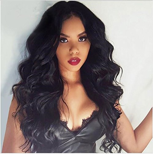 viviaBella Natural Loose Curly Wavy Clip ins Top Grade Hairpiece Brazilian Virgin Human Hair Extensions For Women and Girls Hair Design and Hair Decoration (100g 16