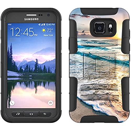 Samsung Galaxy S7 Active Armor Hybrid Case Sunrise in Mexico 2 Piece Case with Holster for Samsung Galaxy S7 Active Sales