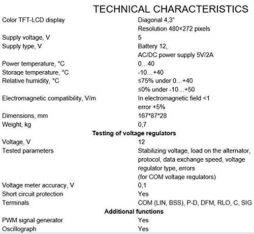 MSG MS013 COM Alternator Voltage Regulator Tester by MSG (Image #5)