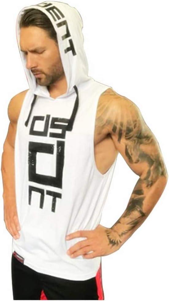 Better Body Gym Hoodie Men Bodybuilding Stringer Tank Top Muscle Sleeveless Shirt