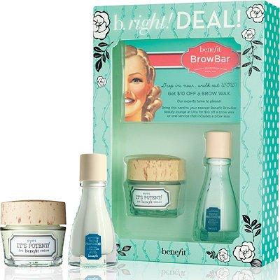 Benefit B.Right! Deal! Eye Crem 0.5 oz, & Facial emulsion 0.