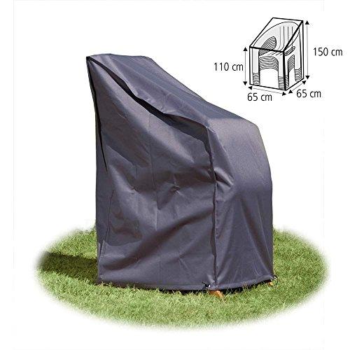 Schutzhülle 65x65x150 cm für Stühle Stapelstühle Abdeckhaube in Premium-Qualität