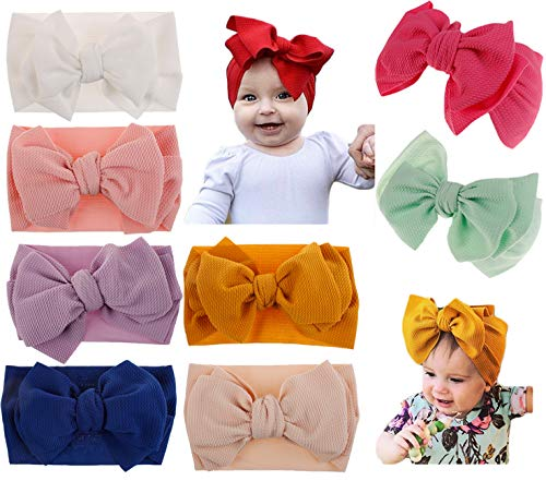 DANMY Baby Girl Nylon Headbands Newborn Infant Toddler for sale  Delivered anywhere in USA