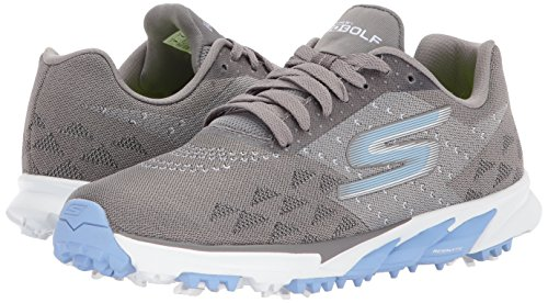 Pictures of Skechers Performance Women's Go Golf Blade 14867 Charcoal/Blue 4