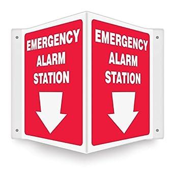Amazon.com: Estación de alarma de emergencia 12 x 9 .100 ...
