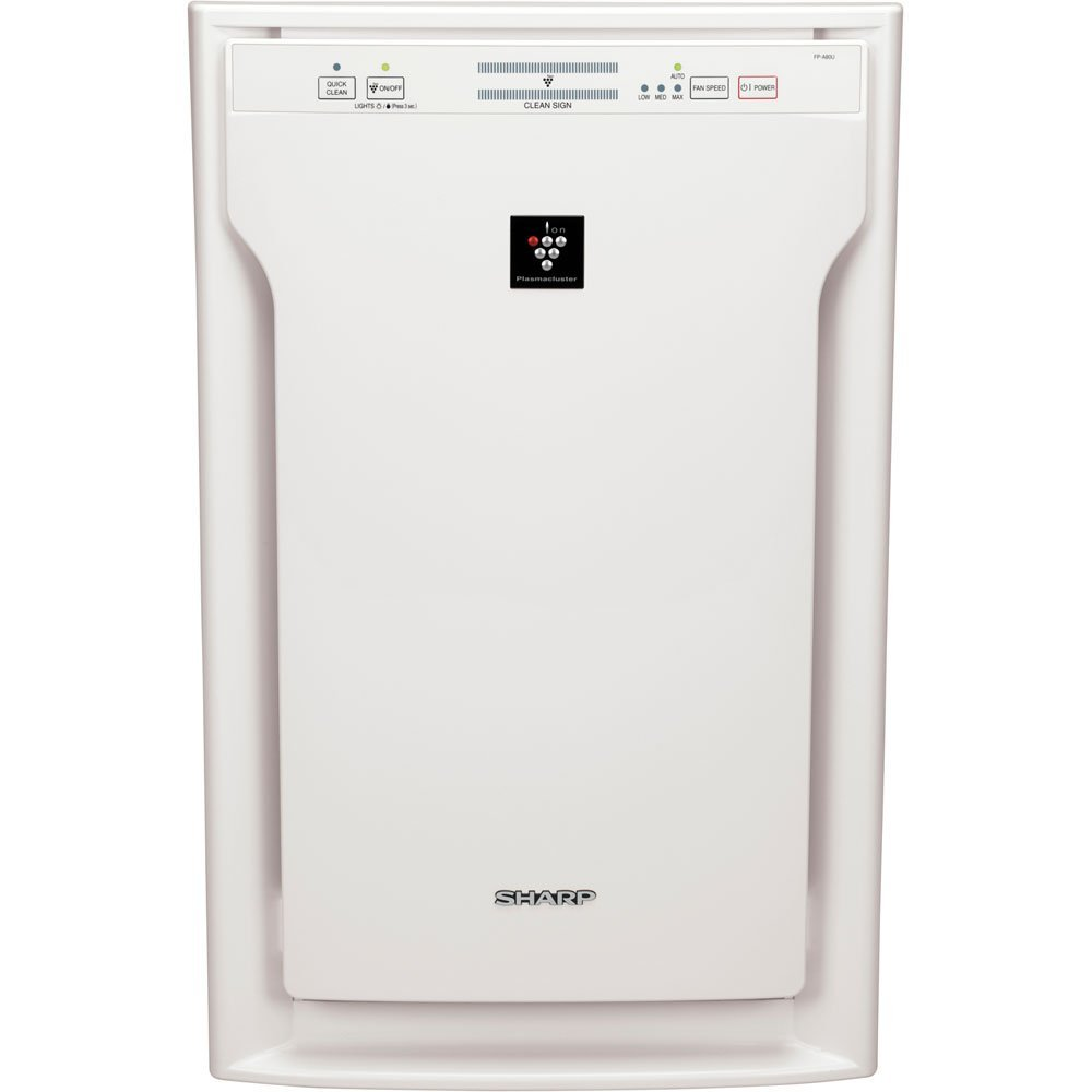 Sharp Insight Refurbished Dual Action Plasmacluster Air Purifier with HEPA Filter - FP-A40UWRB